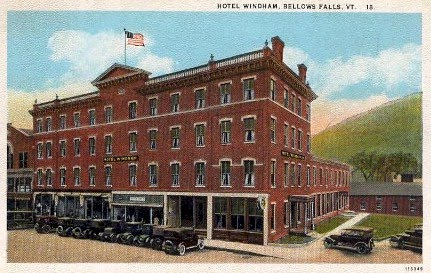 The Hotel Windham Bellows Falls Vermont