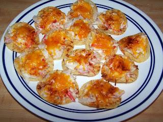 Seafood Nachos Appetizer