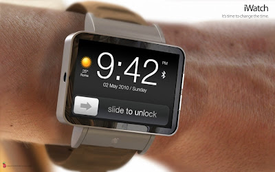 Apple iWatch concept by ADR Studio, Italian Design Apple, Mobile Watch with projector