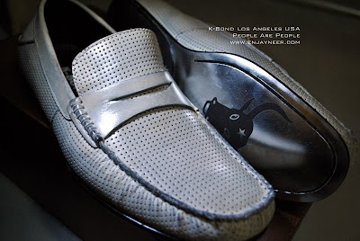 K-Bond Men's Shoes, Los Angeles USA, White Leather shoes from People Are People, MarQuee Ayala Mall Pampanga