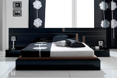 modern bedroom furniture, bed