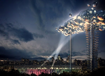 The Cloud, Digital cloud for the London 2012 Olympics