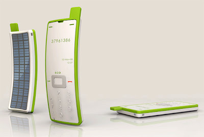 Solar Powered Sticker Phone by Liu Hsiang-Ling, Sticky Phone, Eco-friendly Phone, Flexible Silicon