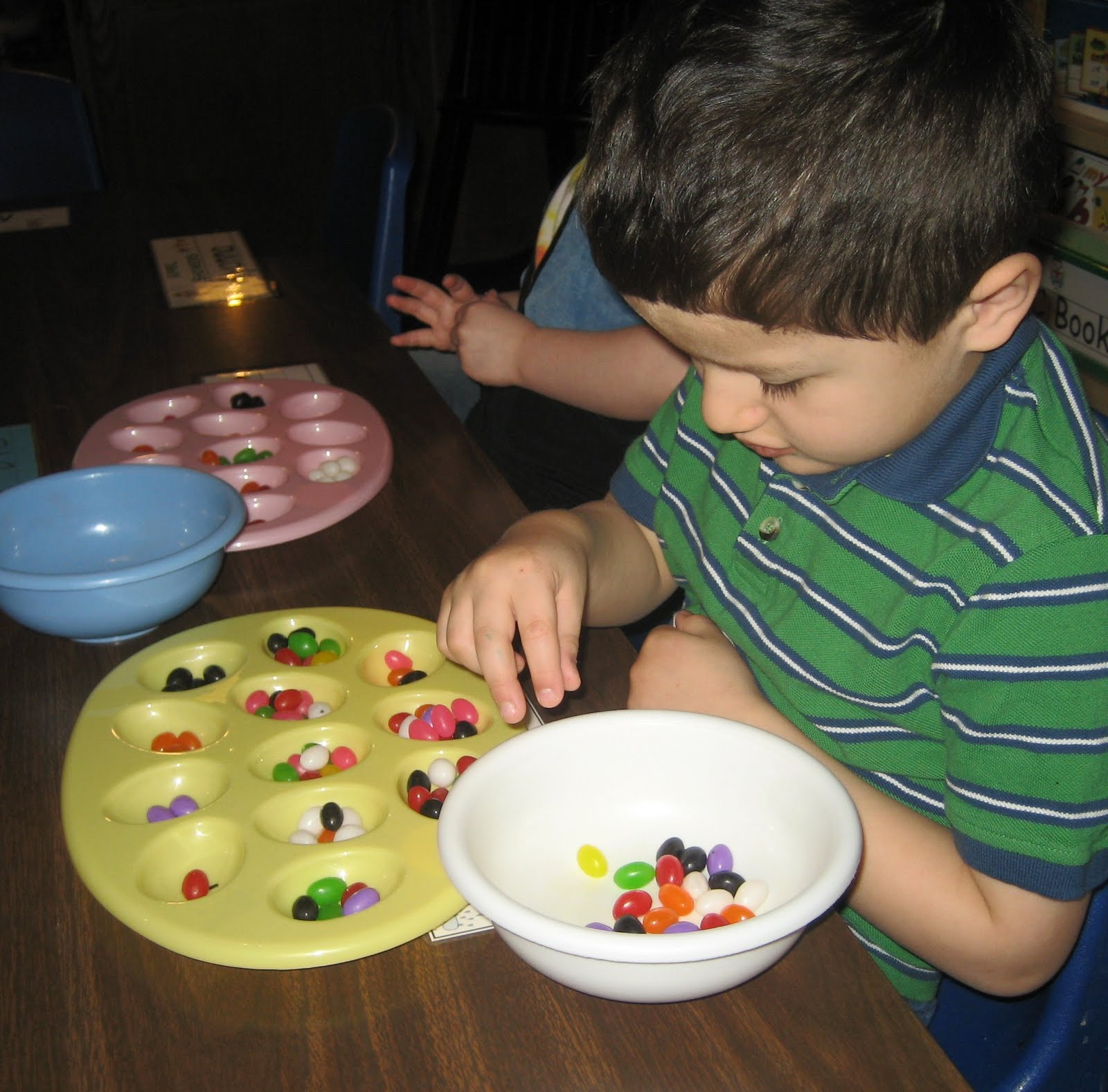 Treasures Of The Heart Preschool And Child Care Jelly Bean Activity