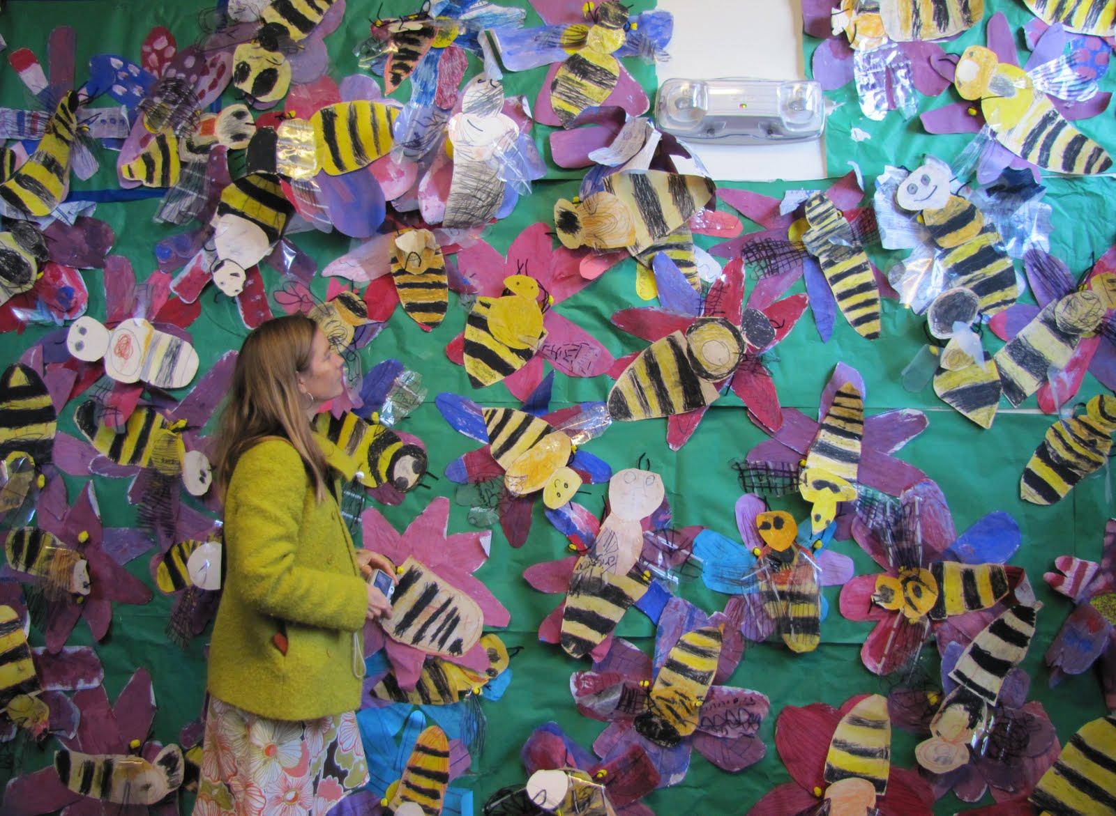 Claire Bain Art Education Honeybee Science Art Project