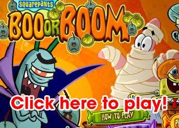 Sponge Bob SquarePants Boo or Boom