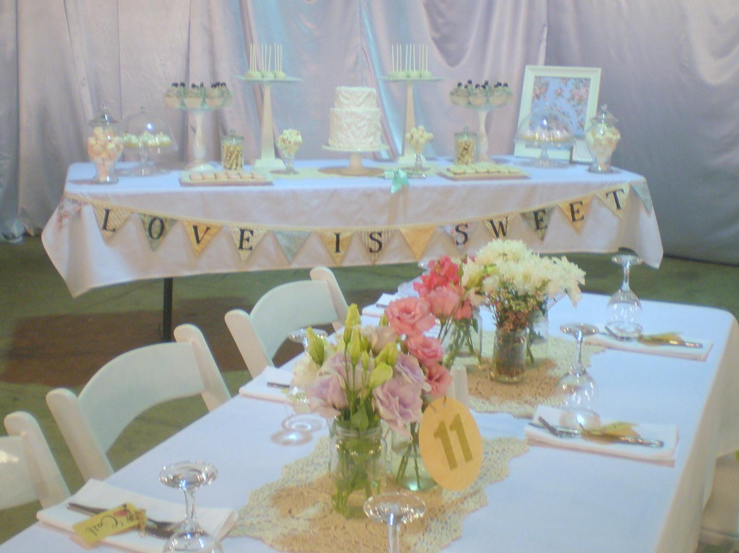 sugar siren cakes mackay shabby chic wedding dessert buffet. Black Bedroom Furniture Sets. Home Design Ideas