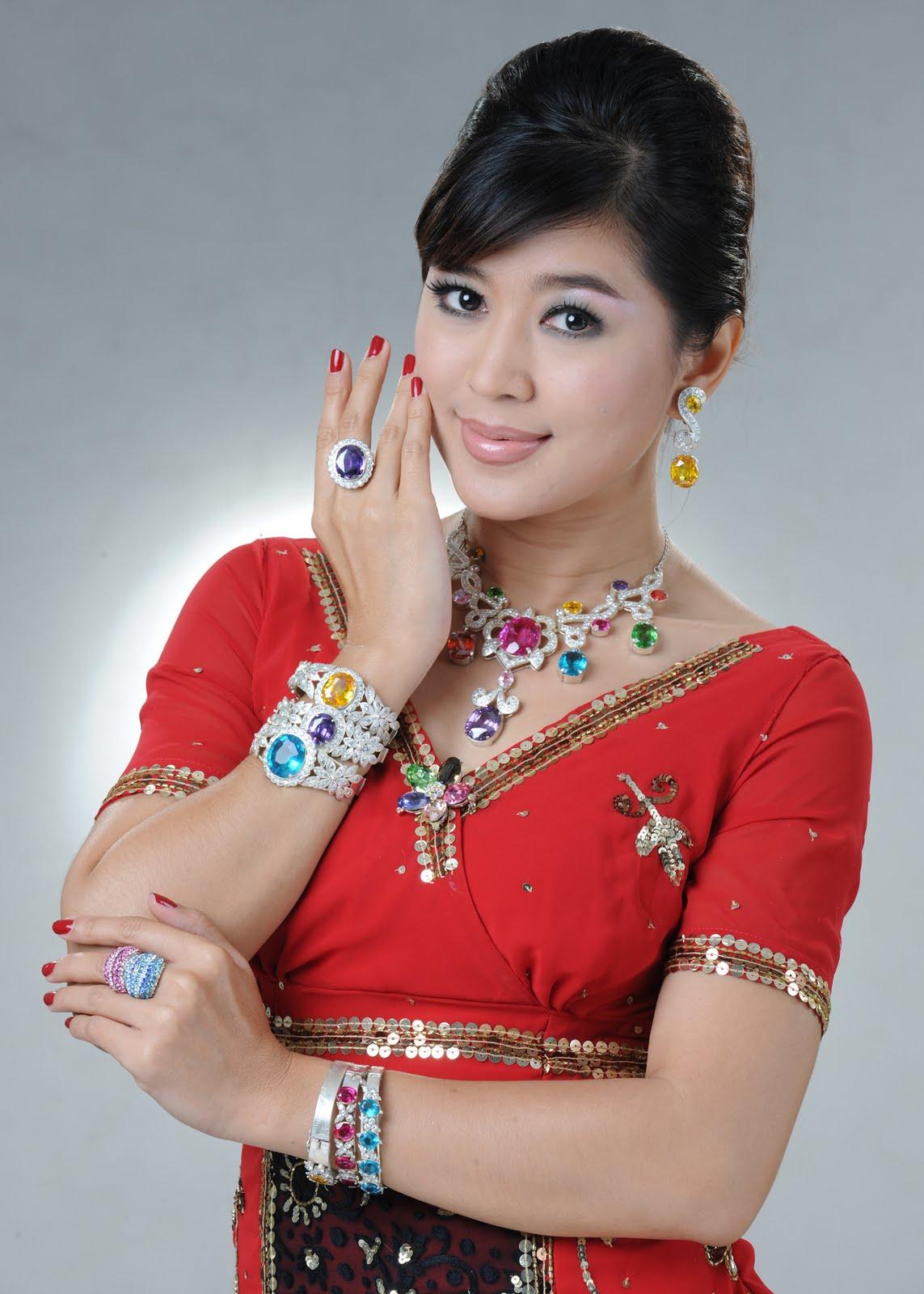 Myanmar Sexy Girls Myanmar Celebrities Vs Jewelry-5396
