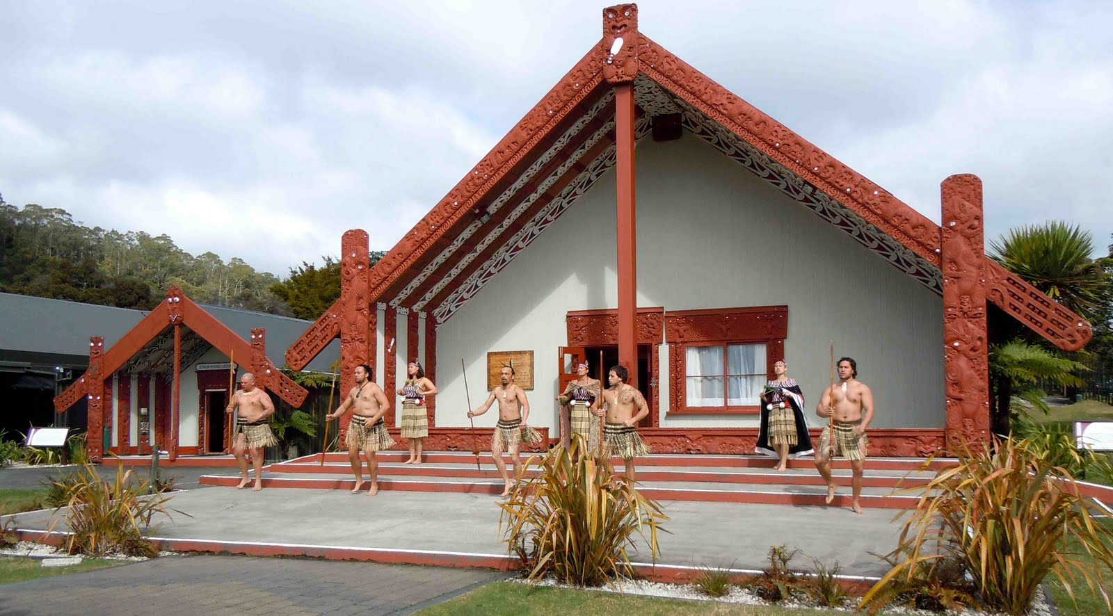 Maori Meeting House: Kylie Griffin's Blog: September 2010