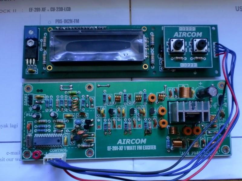 Radio Technician: 1 Watt Simple FM Transmitter For Nice