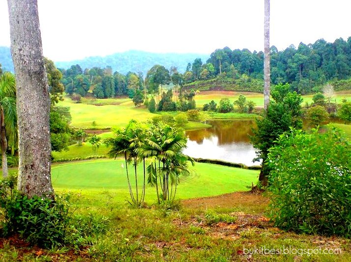 a view in tasik bukit besi golf
