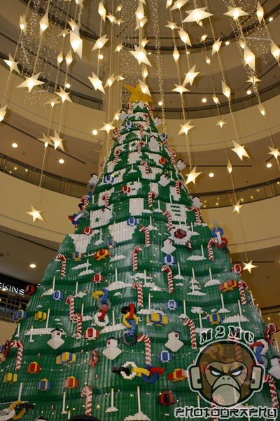 Lego Christmas Tree Bangsar Village Ii Live Your Dream