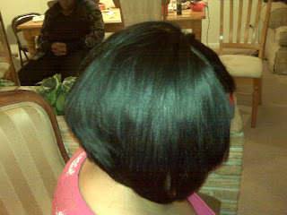 hair junkie diva front and center bob using outre duby