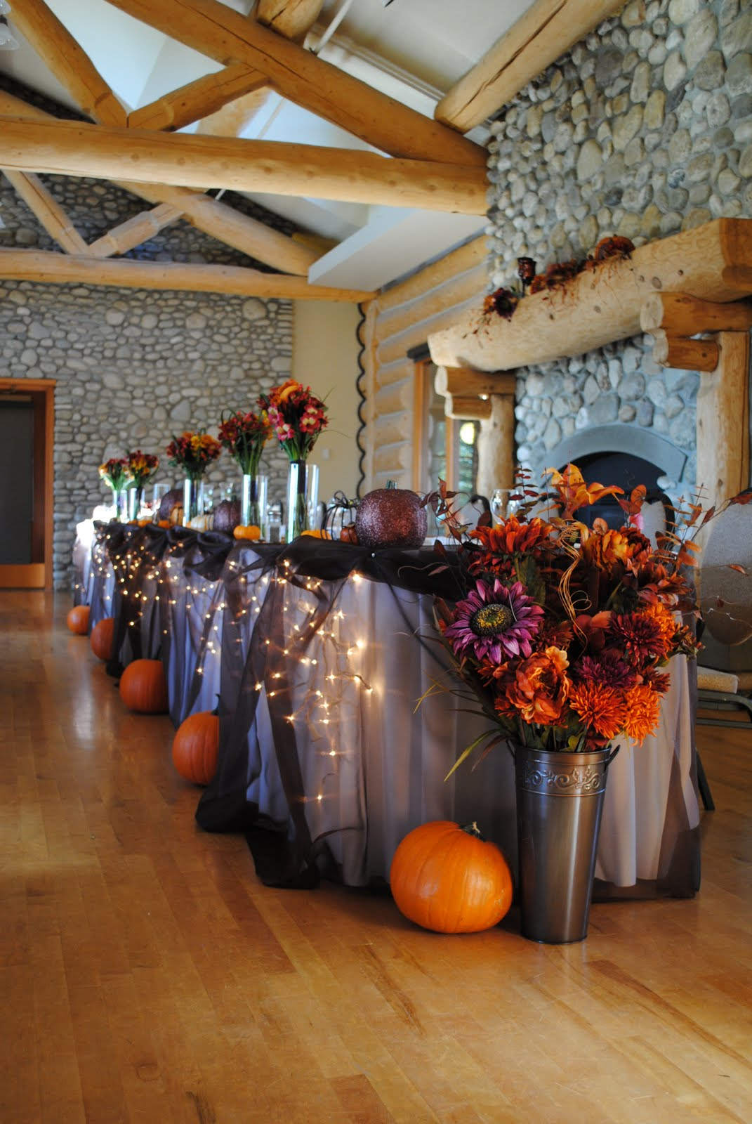 Wishahmon Blog: Pumpkin Themed Wedding