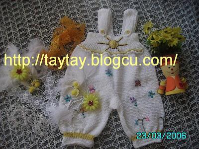örgü bebek tulumlari