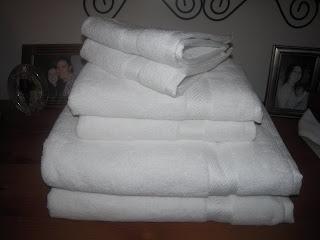 organic towel set
