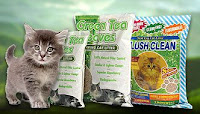 Next Gen green tea cat litter