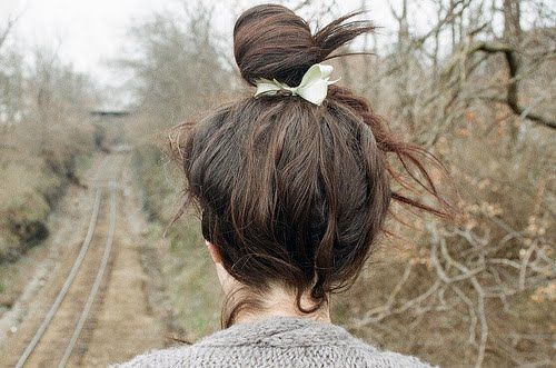 Kids with Gxns: RANDOM / Bun Hairstyle