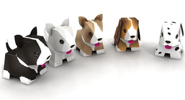 Puppy Papercrafts Papercraft Paradise Papercrafts