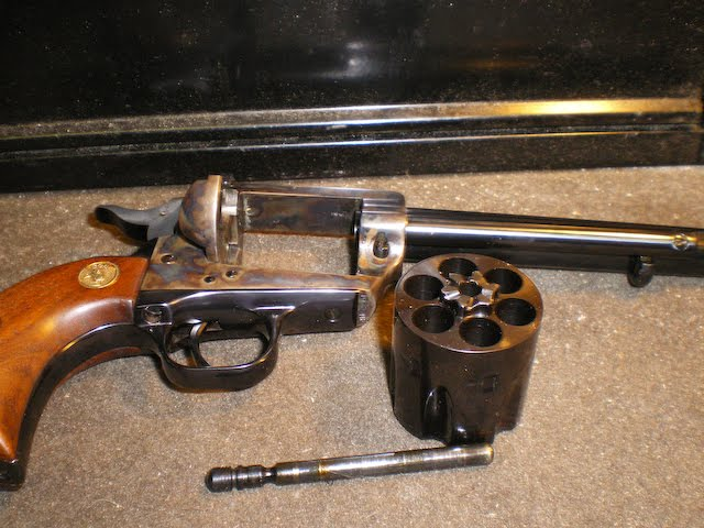 Warlock Firearms: Colt Single Action Revolver Disassembly