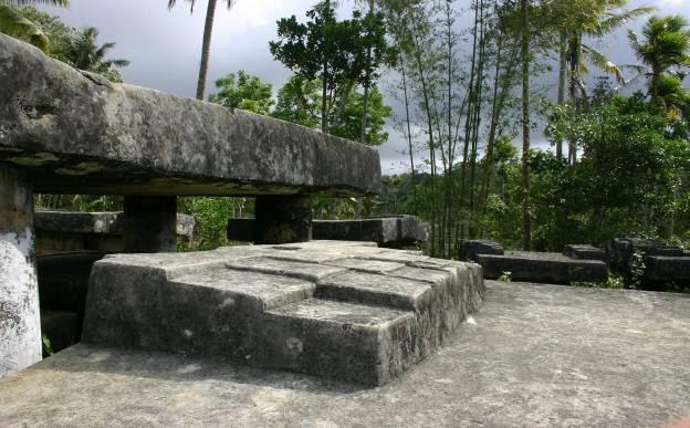 Dolmenes y megalitos del mundo Megalitos en Sumatra Isla de Nias