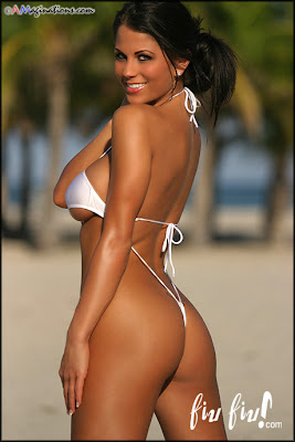 eve lawrence sling bikini