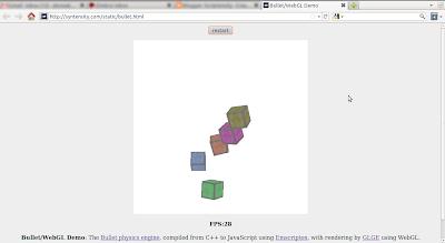 Scriptensity: Bullet/WebGL Demo