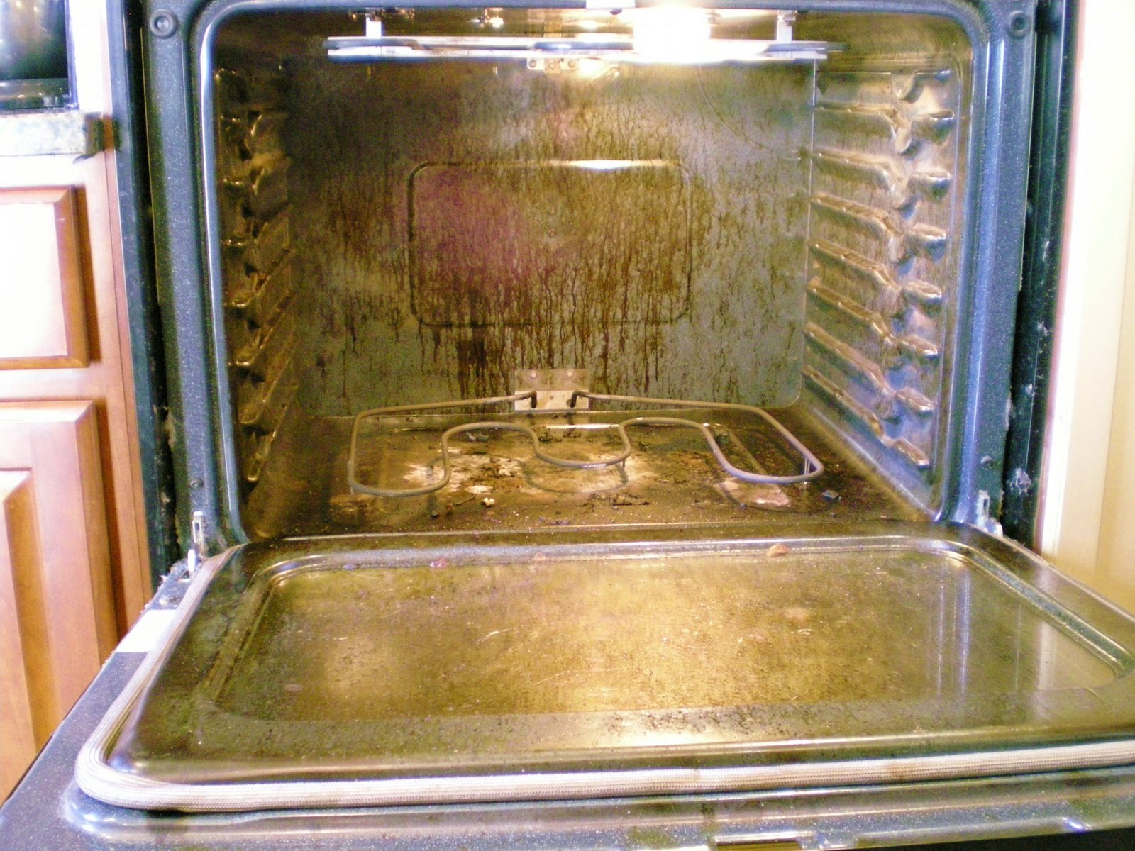 Dirty Oven So Sad