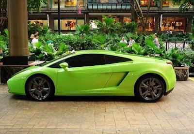 Images Of Cars Lamborghini Gallardo Green Wallpapers Gallery