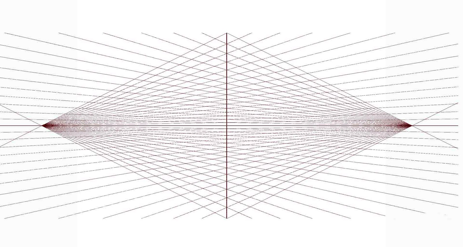Drawing In Two Point Perspective Using A Rubber Band