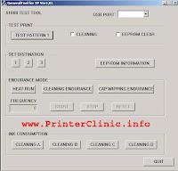 canon i320 printer error messages
