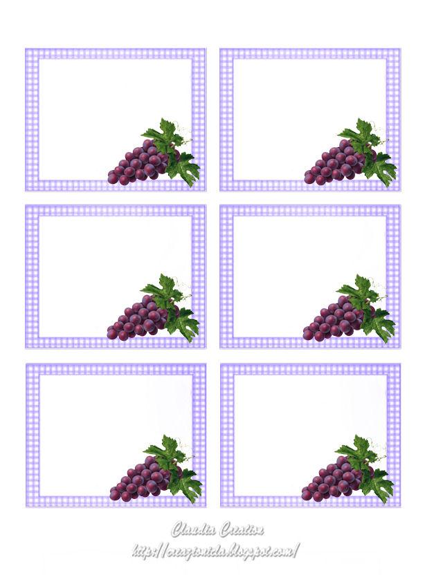 Famoso il mio angolo creativo: Etichette per vino stampabili UR49