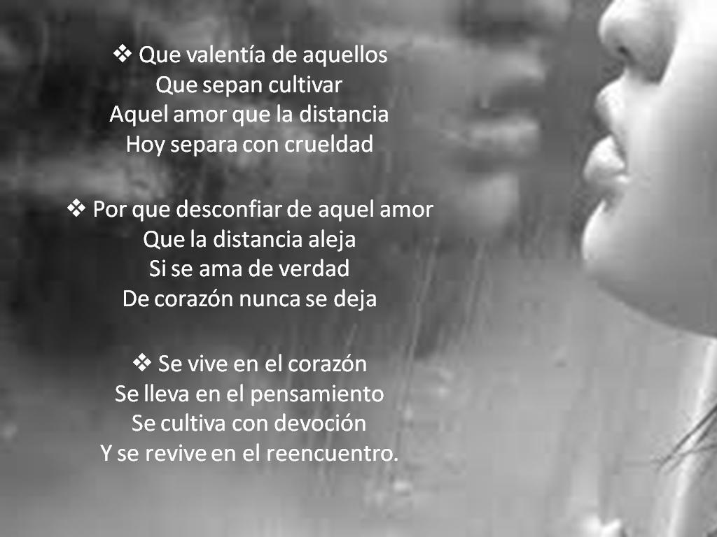 Frases De Amor A Distancia: Versos O Frases Con Imagenes !!!!