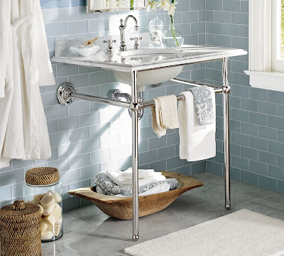 GOLD NOTES: October 2009 - Metal Console Sink Stands