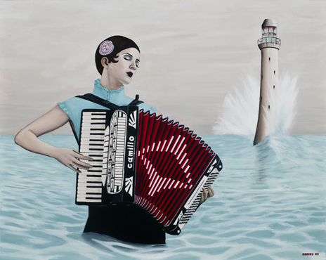 MISS NATASHA ENQUIST: ELECTRO-ACCORDION CHANTEUSE: November 2010