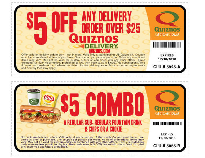 graphic regarding Quizno Printable Coupons identify Quiznos coupon codes - Purple apple earpods