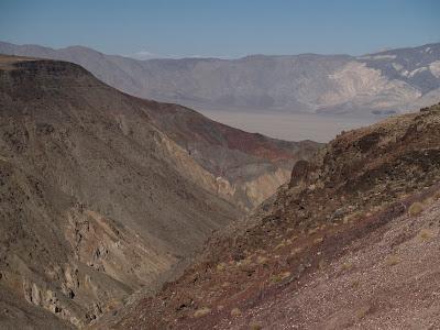 Cañones en Death Valley National Park