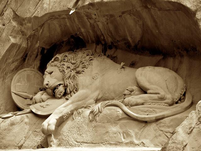 El León de Lucerna