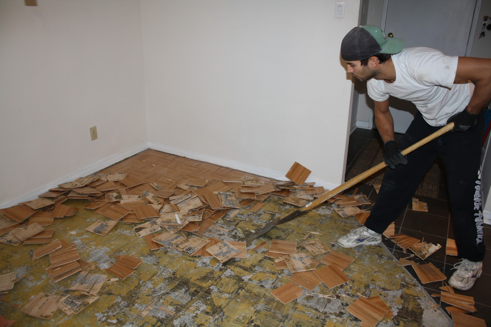 Parquet Flooring Removing Parquet Flooring From Concrete