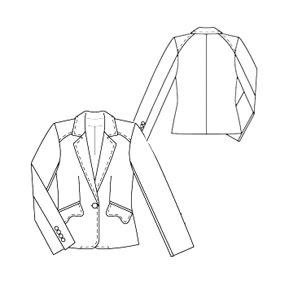 Priscilla Kibbee: Free Jacket Pattern from Burda