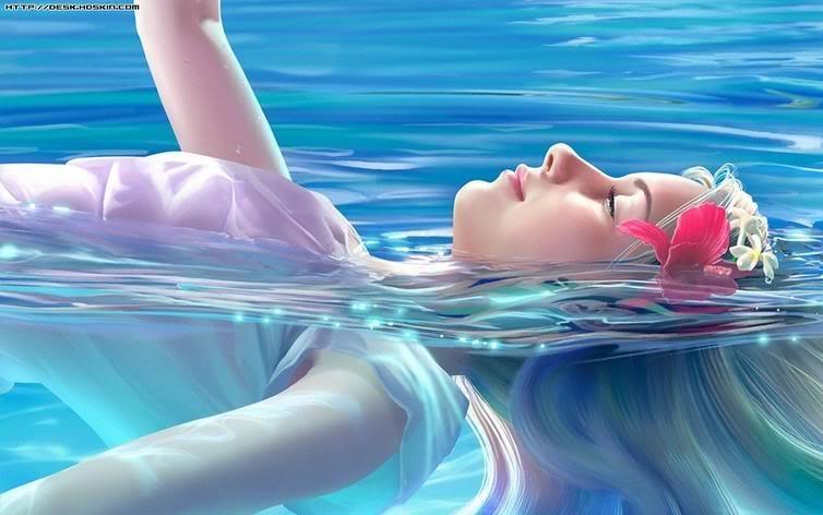 No mar de meus sonhos