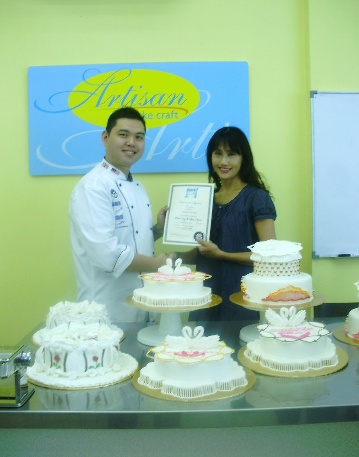 Pauline Bakes The Cake Skill Upgrade Pme Professional