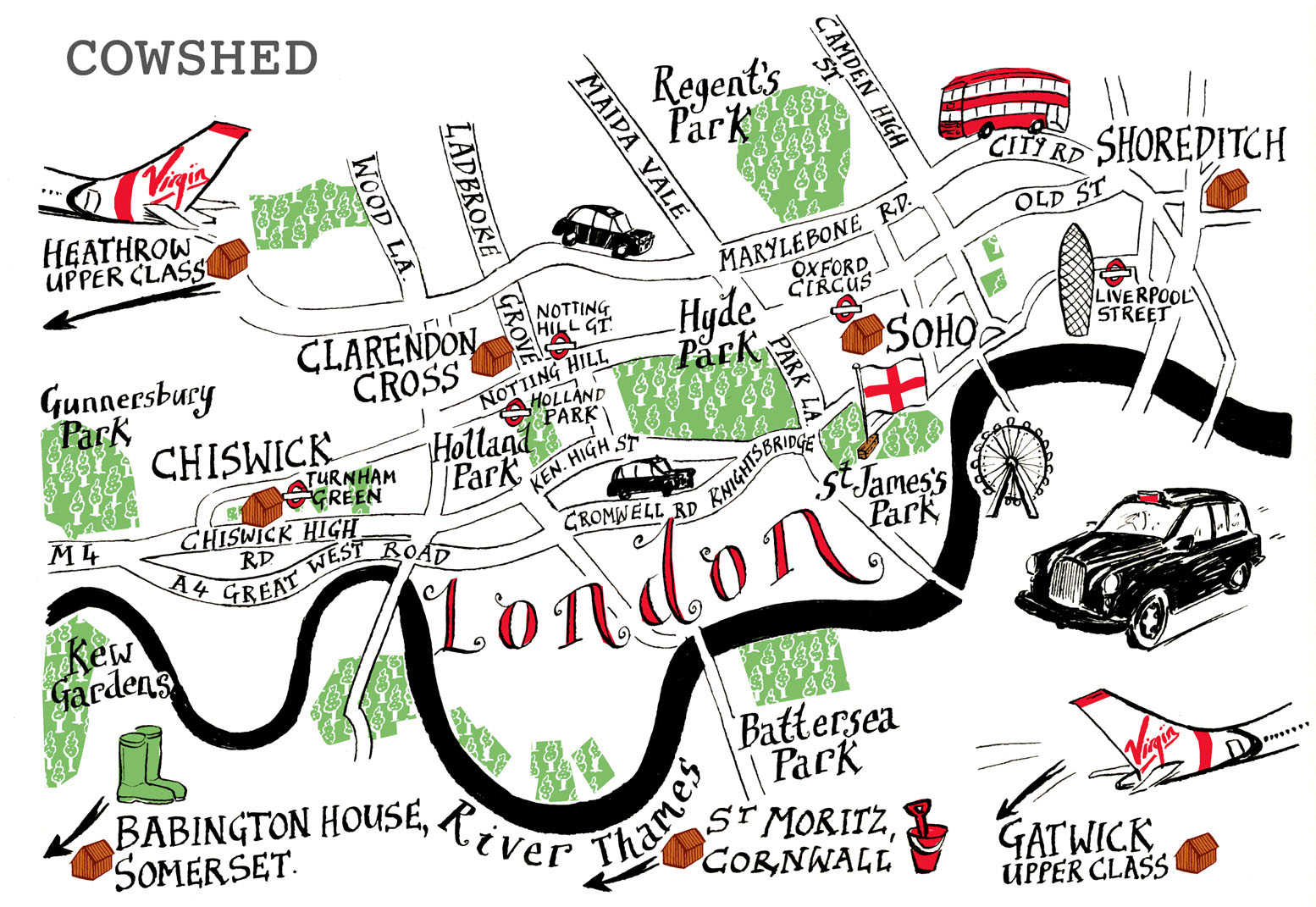 simple map of london Simple London Map