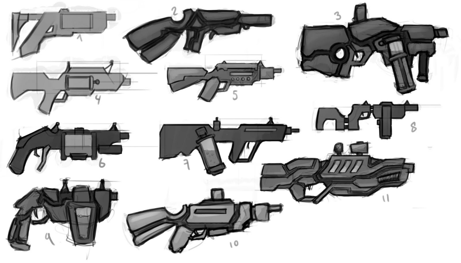 13 Inches Of Fun Weapon Concept Art