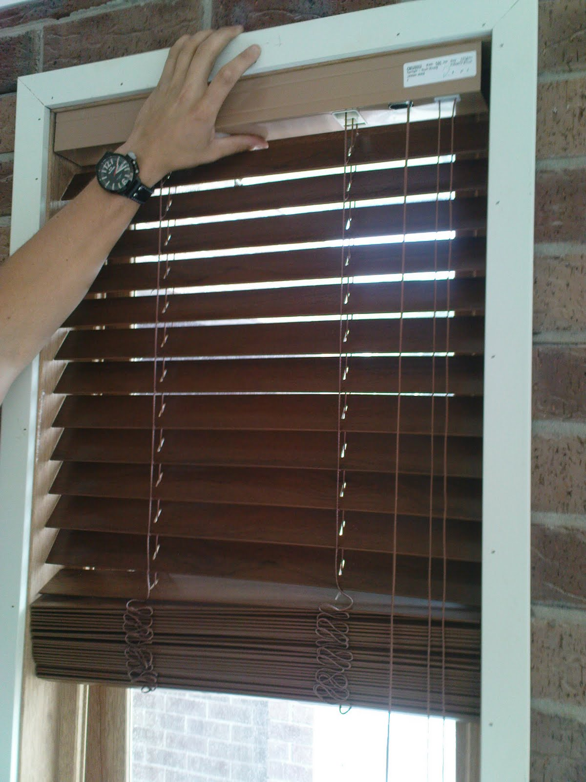 Spotlight Timber Venetians Our Henley Voyager 383 Timber Look Venetian Blinds