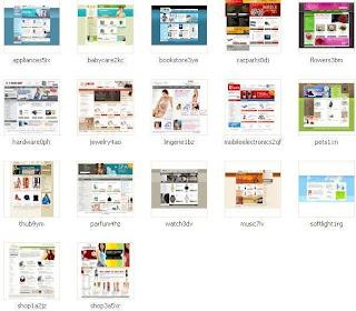 Free oscommerce templates.