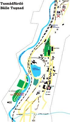 Harta Romaniei In Fotografii Harta Baile Tusnad