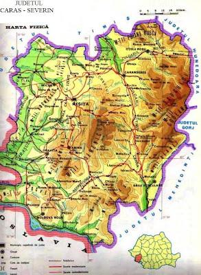 Harta Romaniei In Fotografii Valea Cernei