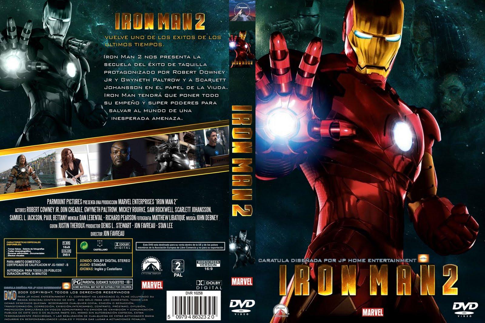 Iron man 2 dvd / Teresa rabal me pongo de pie