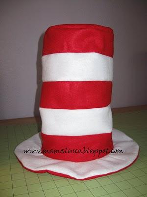Mama Lusco Handmade Dr Seuss Hat Tutorial